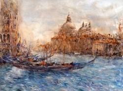 Santa Maria by Gary Benfield - Hand Finished Limited Edition on Canvas sized 24x17 inches. Available from Whitewall Galleries